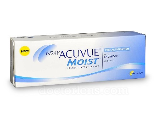 One Day Acuvue Moist for Astigmatism (30 шт.)