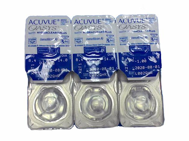 Acuvue Oasys (6 шт.) кривизна 8.8 спеццена