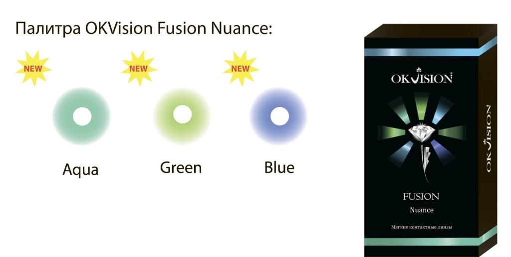 Цветные линзы okvision fusion