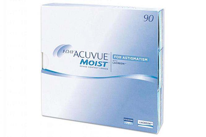 One Day Acuvue Moist for Astigmatism (90 шт.)